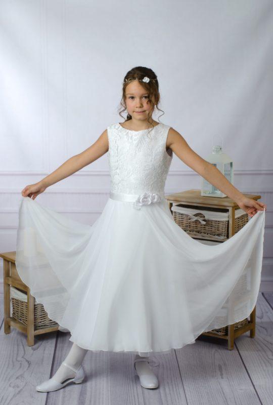 Delikatna sukienka komunijna Emma