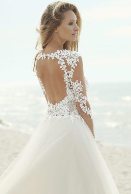 Zjawiskowa suknia ślubna Barbaritta