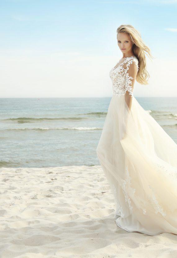 Suknia ślubna z kolekcji Gala 2019 Barbaritta