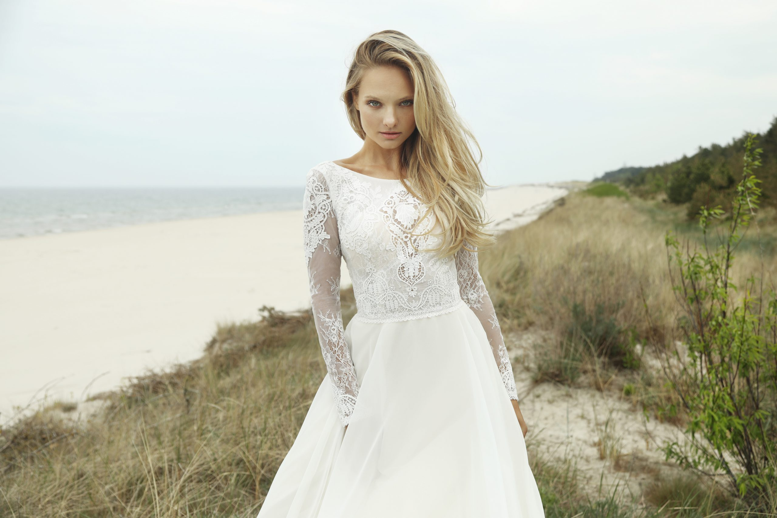 Suknia ślubna boho - Barnika