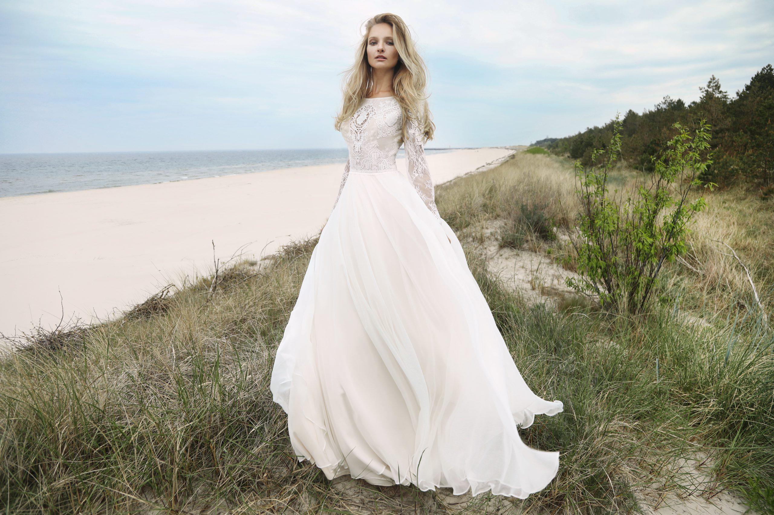Suknia ślubna boho- Baranika