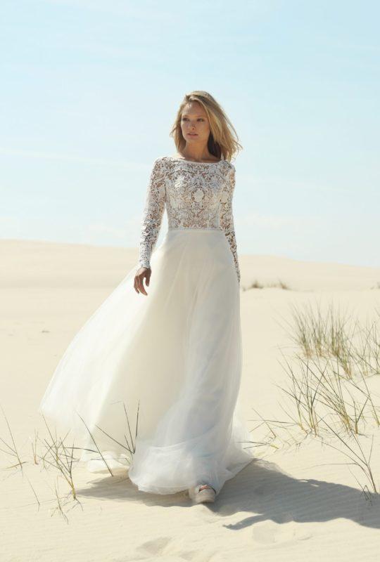 Zwiewna suknia ślubna Belinda