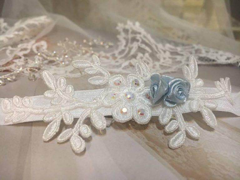 podwiązka ślubna
