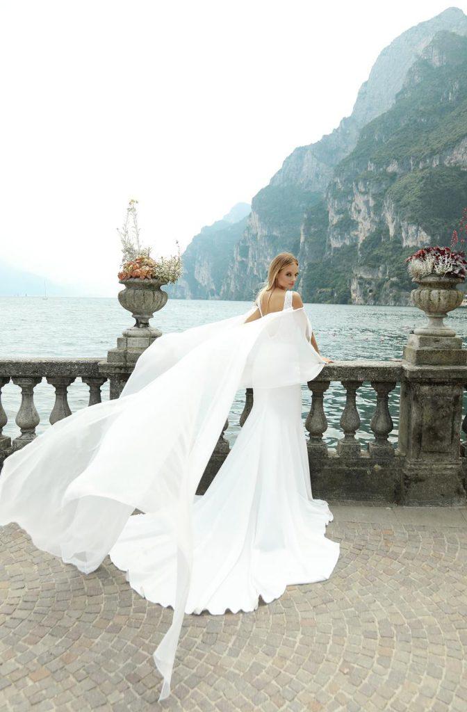 Suknia ślubna Britnay o kroju syreny