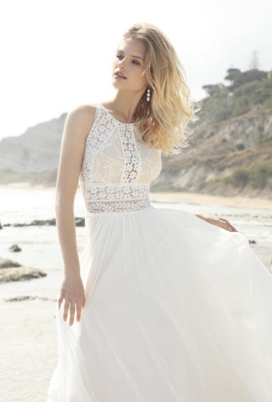 Romantyczna suknia ślubna Calypso