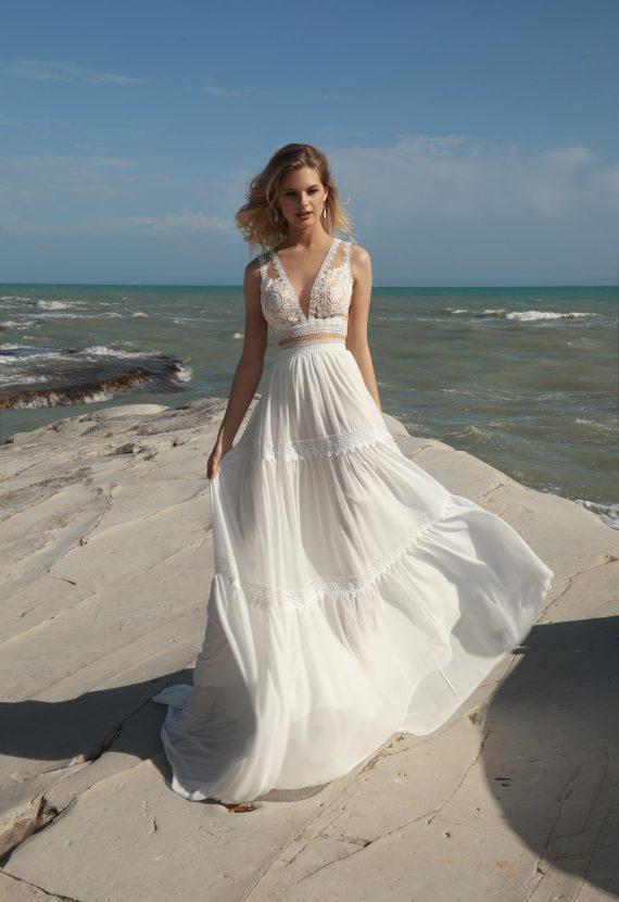 Suknia ślubna idealna na plażę