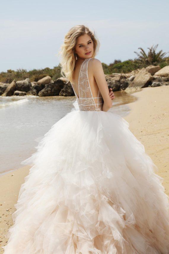 Body ze spódnicą, suknia ślubna inna niż wszystkie.
